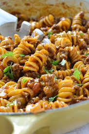 easy dinner recipes with ground beef. Modren Beef An Easy And Delicious Recipe For OnePot Cheesy Taco Pasta Loaded With Ground  Beef Lots Of Shredded Cheese Ready In About 30 Minutes On Easy Dinner Recipes With Ground Beef