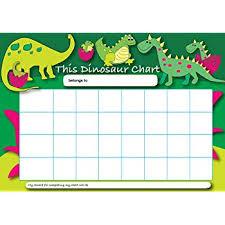 Dinosaur Potty Training Reward Chart Dinosaurs Star Sticker Reward Chart Amazon Co Uk Office