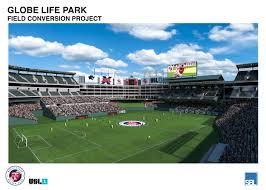 Globe Life Stadium Seating Chart Globe Life Park In Arlington Reconfiguration Begins This