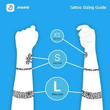 The Jhaiho Tattoo Sizing Guide Jhaiho Medium