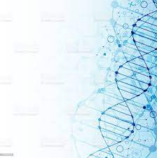 Science Template Dna Molecules ...