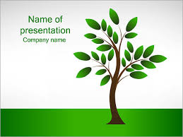 Tree Powerpoint Template New Tree Powerpoint Template Backgrounds Google Slides Id