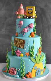 Latest Spongebob Cake I Made 12514 Cakesme Cake Desserts