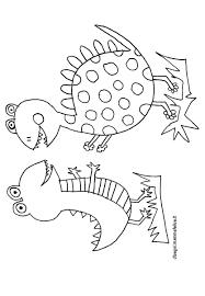 Disegno Da Colorare Dinosauri Divertenti Disegni Mammafelice