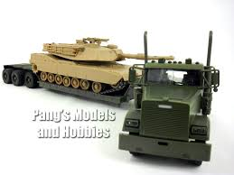 Freightliner Lowboy With M1 Abrams Tank 1/32 Scale Diecast and ...