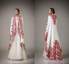 Arabic Kaftans Dresses 2017 Traditional Abayas For Muslim High