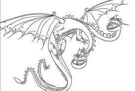 Dragon Trainer Disegni Da Stampare Bambini