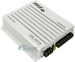 pyle plmra400 400w 4 channel hydra series marine amplifier pyle plmra400