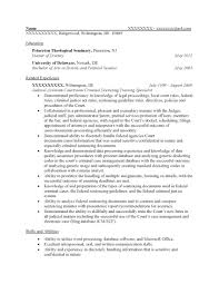 Federal Resume Samples Free Federal Resume Sample From Resume Prime 10