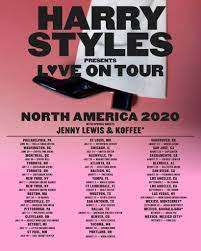 Harry Styles Announces 'Love On Tour ...
