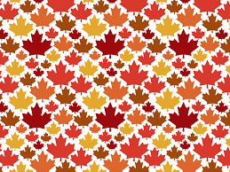 Fall Patterns Custom Leaf Pattern By Kayla Folino Dribbble