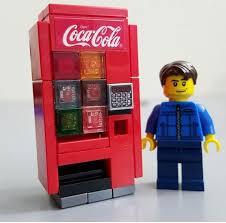 Lego Soda Vending Machine Mesmerizing Lego Soda Machine 48 Best Lego Invention Images On Pinterest