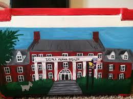 paint the frat castle on a cooler. LOVE