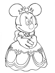 Disney Minnie Mouse Coloring Pages Free Printable Disney Minnie