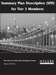 Tier 3 Summary Plan Description Spd New York City