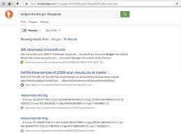 smart searching with googledorking