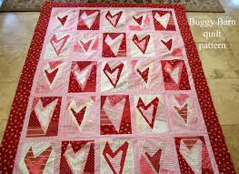 Valentine Heart Quilt | Valentine heart, Barn quilt patterns and ... & Valentine Heart Quilt Adamdwight.com