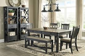 gray dining room table. D736-BlackReg Gray Dining Room Table T