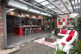 indoor outdoor kitchen ideas 10 gorgeous backyard kitchen designs diy network blog made