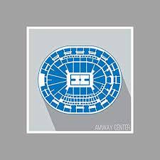 Amway Center Seating Chart Amazon Com Orlando Amway Center Basketball Seating Map