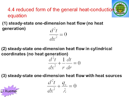 7 li xuemei 4 4 reduced form of the general heat conduction equation