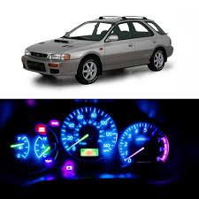 1999 Subaru Forester Dash Lights Wljh 10x T5 Wedge 37 73 Led Bulbs Pc74 Twist Socket Gauge