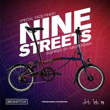 brompton m6l nine streets special edition pre order hollandsbicycles