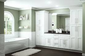 Image Cabinet Ideas The Home Depot Newport Bath Cabinets In Pacific White Kitchen The Home Depot