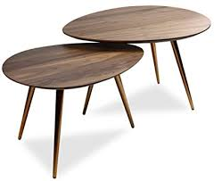 mid century modern coffee table set by edloe finch coffee tables for living room