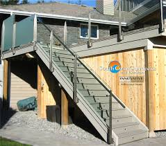 frameless glass deck railing systems wild remarkable company in vancouver home ideas 41