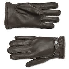 details about orvis coventry cashmere lined leather gloves men s brown large 98
