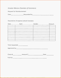 Reimbursement Request Form reimbursement form template kevincoynepagetk 1