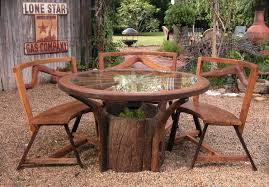 rustic outdoor table and chairs. Full Size Of Patio \u0026 Garden:gumtree Rustic Outdoor Furniture Houston Table And Chairs L