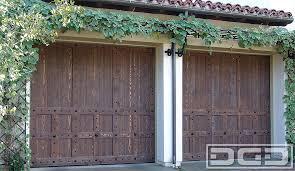 spanish colonial 13 custom architectural garage door
