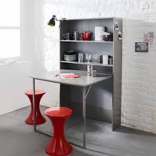 Insolite Meuble Cuisine Avec Table Intégrée Vivable Mobilier De Luxe