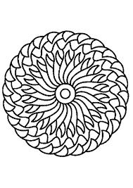 Kleurplaat Mandala 7207 Kleurplaten