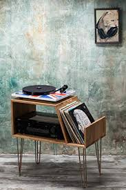 record player console. Interesting Player Vinyl Record Storage Player Cabinet Media Console Player  Stand Hairpin On Console E
