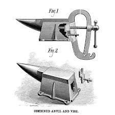Walmart Cedar Rapids Iowa Anvil And Vise 1881 Na Combination Anvil And Vise Patented By Al