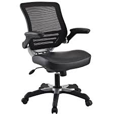 cool ergonomic office desk chair. Modern Black Mesh Back Ergonomic Office Chair With Flip-up Arms Cool Desk R