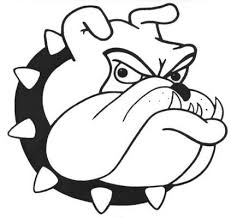 bulldog clipart black and white. Contemporary White Bulldog Head Logo  ClipArt Best On Clipart Black And White