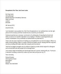 Cover Letters That Worked 11 Part Time Job Cover Letter Templates Free Sample Example