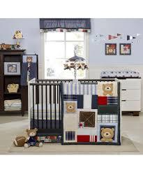 71e9bq80lll sl1200 r crib baby bear bedding com kids line oxford 4 piece set blue