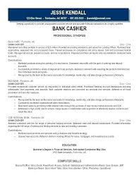 Sample Resume For A Bank Teller Bank Teller Resume Skills With No Experience Resumes For Tellers