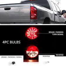 Tailgate Light Bulb Details About 4x Led Parking Rear Tail Light Bulbs Kit For 2007 08 Dodge Ram 1500 2500 3500