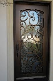 rod iron front door stylish custom wrought home ideas with 1