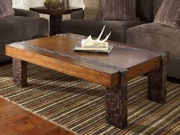 easy rustic coffee table with storage