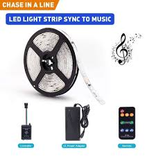 Led Lights Sync To Music Dream Color Led Strip Lights Sync To Music 16 4ft Rgb