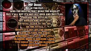 mf doom danger doom sofa king