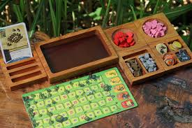 Wooden Game Tokens Awesome The Component Collector By Dog Might Games Kickstarter