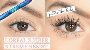 l oreal x fiber xtreme resist mascara put to the test beauty s big sister ad